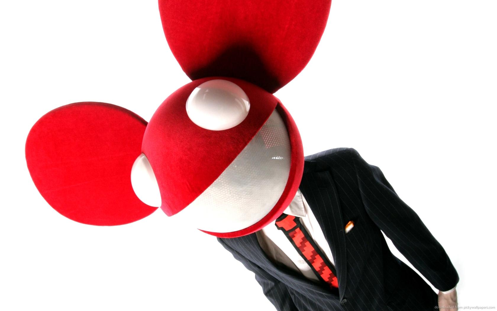 deadmau5 music red wallpaper - photo #32